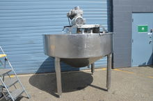 350 Gallon Jacketed Agitated Ke