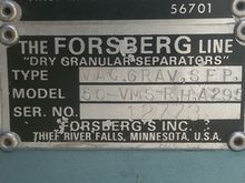 Forsberg 50VMS Vacuum Gravity S