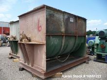 Used- Double Ribbon Mixer. Appr