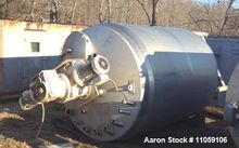 Used- Lee 1500 Gallon Jacketed