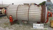USED: Rotary vacuum dryer, 316
