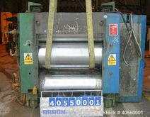 Used- OMV 3 Roll Sheet Stack. (