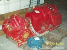 Used- Aurora Fire Pump System,