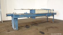 Used- Hoffland Filter Press. Ap