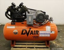 Used- DeVair Piston Air Compres