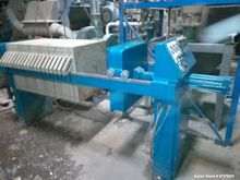Used- JWI Filter Press. 5 cubic