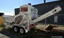 Used- Diesel driven shredder tr