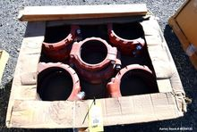 Used- Lot of Victaulic flange r