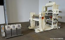 Used- OMV 3 Roll Sheet Stack. T