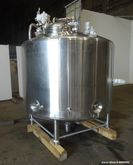 Used- DCI Jacketed Tank, 900 Ga
