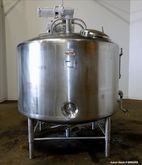 Used- DCI Jacketed Tank, 800 Ga