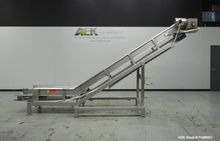 Used- Inclined Conveyor. Approx