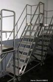 Used- Set of Portable Stairs, S