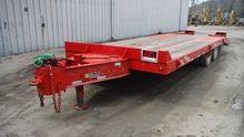 2013 Talbert 20 ton tag