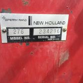 New Holland 276 Large square ba