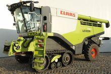 2013 CLAAS LEXION 780 TERRA TRA