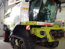 2015 CLAAS LEXION 760 TERRA TRA