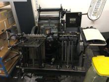 1953 letter presses HEIDELBERG