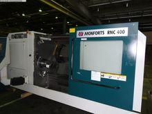 2001 CNC Lathe MONFORTS RNC 400