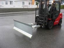 Brøyteskjær for truck gafler ve
