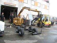 Tømmerhenger 2500 kg, ny modell