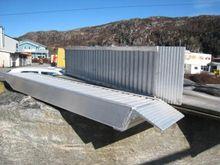 Rampe aluminium Personbil 2 ton