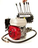Pumpe Honda motor med Hydraulik