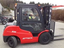 Used Attack 3.0 tonn