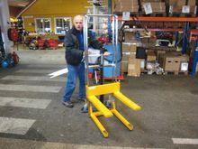 Palletralle 400 kg manuell løft