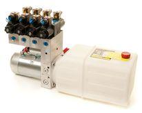 12V hydr.aggregat - 4 funksjon