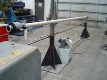 "16', HYDRAULIC BAR FEED, 3/8"" T"