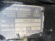 Wacker DPU 2870