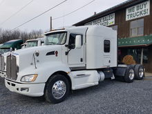 2010 KENWORTH T660 T/A SLEEPER