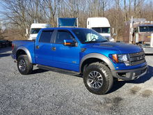 2013 FORD F150 RAPTOR 4WD PICKU