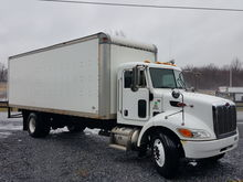 2010 PETERBILT 335 BOX VAN TRUC