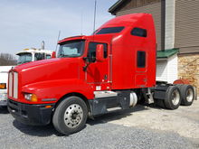 2007 KENWORTH T600 T/A SLEEPER