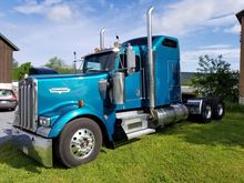 2000 KENWORTH W900L T/A SLEEPER