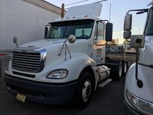 2010 FREIGHTLINER CL12064ST Tan