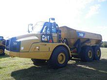 2011 CAT 740B