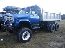 1986 GMC Tandem Axle Dump Truck