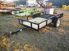 JT10 5'x10' Trailer, Wood Floor