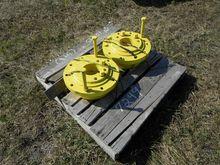 (2) John Deere Wheel Adapters,