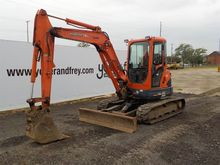2006 Kubota U45-3 Enclosed Cab,