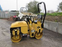 2007 CAT CB114 Double Drum Vibr