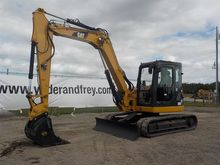 2011 CAT 308DCR 600mm Pads, Bla