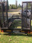 Multiloader double axle trailer