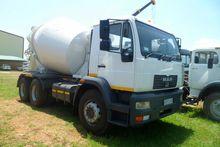 2007 MAN  26-280 Concrete Mixer