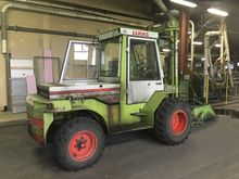 Used Forklift, 4 whe