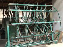 Solid wood panel press