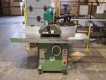 Single moulder with feeder Haff